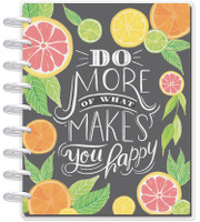 Create 365 - The Happy Planner - Me and My Big Ideas - 2018 - 2019 Classic Happy Planner® - Enjoy All the Things / HORIZONTAL