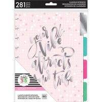 Create 365 - Me and My Big Ideas - The Happy Planner - 6-Month Undated Extension Pack - Your Vibe - Classic