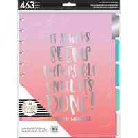 Create 365 - Me and My Big Ideas - The Happy Planner - Undated Extension Pack - Hourly - Big