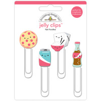 Doodlebug Jelly Clips - Fast Foodies - Set of 4