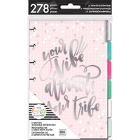 Create 365 - Me angd My Big Ideas - The Happy Planner - 6-Month Undated Extension Pack - Rainbow - Mini