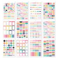 Carpe Diem - Simple Stories - A5 Sticker Book - Planner Basics