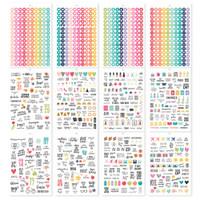 Carpe Diem - Simple Stories - A5 Sticker Book - Calendar