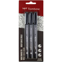 Tombow MONO Drawing Pens - Set of 3