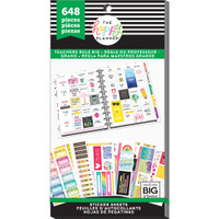 Create 365 - Me and My Big Ideas - The Happy Planner™ Value Pack Stickers - Teachers Rule