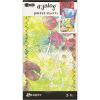 Dylusions - Dyan Reaveley's Dylusions Dyalog Printed Pocket Inserts - Set of 3