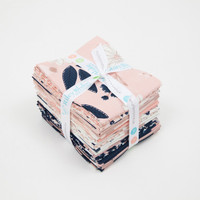 Riley Blake Designs - Blush by My Minds Eye Collection - Fat Quarter Bundle