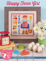 It's Sew Emma - Happy Farm Girl Cross Stitch by Lori Holt