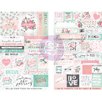 Prima Marketing - Havana Stickers - Words & Quotes with Foil Accents