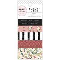 Pink Paislee - Auburn Lane Washi Tape - Set of 6