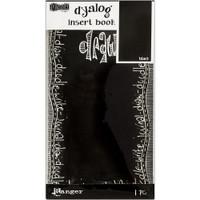Dyan Reaveley's - Dylusions Dyalog Insert Book - Black