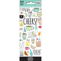 Create 365 - Me and My Big Ideas - The Happy Planner - Sticker Book - Drinks