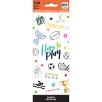 Create 365 - Me and My Big Ideas - The Happy Planner - Sticker Book - Sports