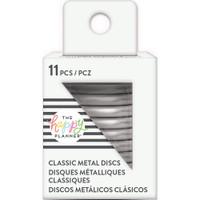 Create 365 - Me and My Big Ideas - Happy Planner - METAL Medium Discs - Silver