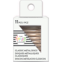 Create 365 - Me and My Big Ideas - Happy Planner - METAL Medium Discs - Rose Gold