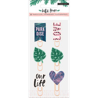 Crate Paper - Wild Heart Decorative Clips - Set of 6