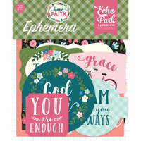 Echo Park Paper - Have Faith Cardstock Die Cuts