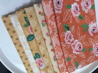 Moda Fabric - Fat Quarter Bundle - Sugar Pie by Lella Boutique - Yellow & Orange