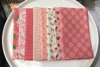 Moda Fabric - Fat Quarter Bundle - Sugar Pie by Lella Boutique - Pink