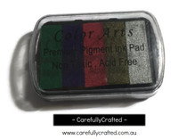 Premium Pigment Ink Pad - Metallic Rainbow #IP-P11