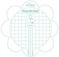 Riley Blake Designs - Bee In My Bonnet -  Lori Holt - Seam Guide - Seaglass
