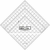 """Bloc Loc - Half Square Triangle Ruler Set #2 - 2.5"""", 4.5"""", 6.5"""""""