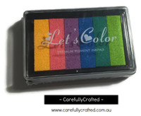 Stamp Ink Pad - Rainbow #IP-3