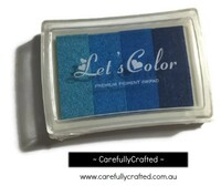 Stamp Ink Pad - Blues Shades #IP-7