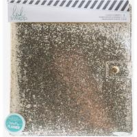 Heidi Swapp Large Memory Planner - Fresh Start - Gold Glitter