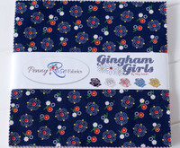 Penny Rose Fabrics - Gingham Girls by Amy Smart Collection - Layer Cake