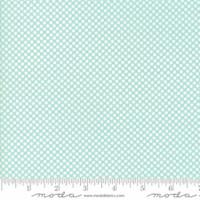 Moda Fabric - Wide Backing - Vintage Holiday - Bonnie & Camille - Aqua #11138 12