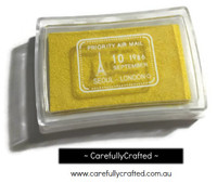 Stamp Ink Pad - Yellow #IP-18