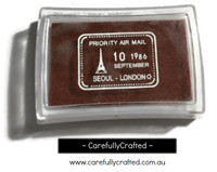 Stamp Ink Pad - Brown #IP-22
