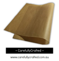 25 Sheets - Kraft Packaging Paper - Baking