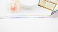 The Pink Room Co - Rainbow Star Washi Collection - The Pink Room Co Original