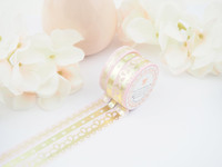 The Pink Room Co - Lace of Venus in Pink Washi Collection - The Pink Room Co Exclusive Original