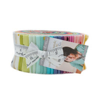 Moda Fabric Precuts Jelly Roll - Ombre Confetti Met by V & Co