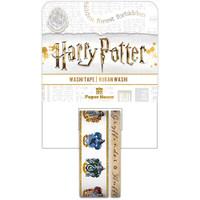 Paper House Licensed Washi Tape - Set of 2 - Harry Potter - House Crests
