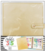 Create 365 - Me and My Big Ideas - The Happy Planner Deluxe Cover -  Gold - CLASSIC