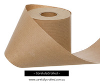 Wrapping Belli Band Wrapping Roll 10cm x 60m - Kraft