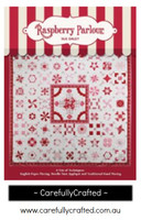 Raspberry Parlour Quilt Book - Sue Daley Designs