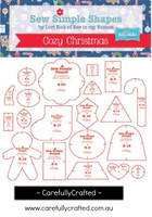 Cozy Christmas Sew Simple Shapes Templates - Lori Holt of Bee in my Bonnet