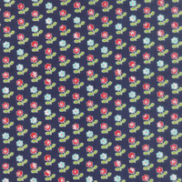 Moda Fabric - Vintage Picnic - Bonnie & Camille - Navy #55121-16