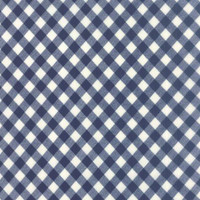 Moda Fabric - Vintage Picnic - Bonnie & Camille - Navy #55124-16