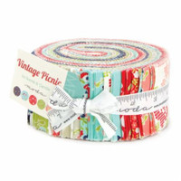 Moda Fabric Precuts Jelly Roll - Vintage Picnic by Bonnie and Camille