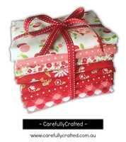 Moda Fabric - Vintage Picnic - Bonnie and Camille - Fat Quarter Bundle - Red