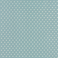 25cm Moda Fabric - Bread N Butter - by American Jane Patterns, Sandy Klop for Moda Fabrics - Blue Polka Dot ##21697-21