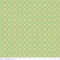 Riley Blake Fabric - Cozy Christmas - Lori Holt - Green #C5367