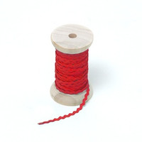 "Riley Blake Designs - 1/8"" Mini Ric Rac - Red"