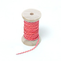 "Riley Blake Designs - 1/8"" Mini Ric Rac - Sugar Pink"